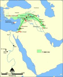 Asentamientos neolíticos en el Creciente Fértil